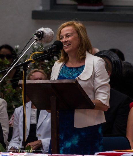 Lisa Phillips, 68th Governor of St Helena, Good Luck.
