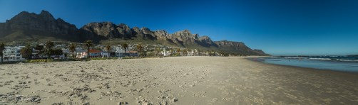 Camps Bay and the twelve apostles.