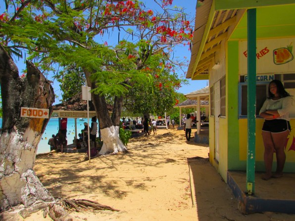 food stand @ Puerto Seco