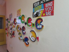 student-created word wall