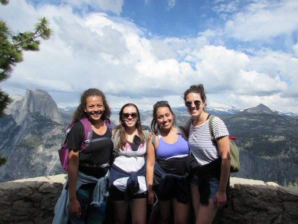 Girls trip to Yosemite with some of my closest friends