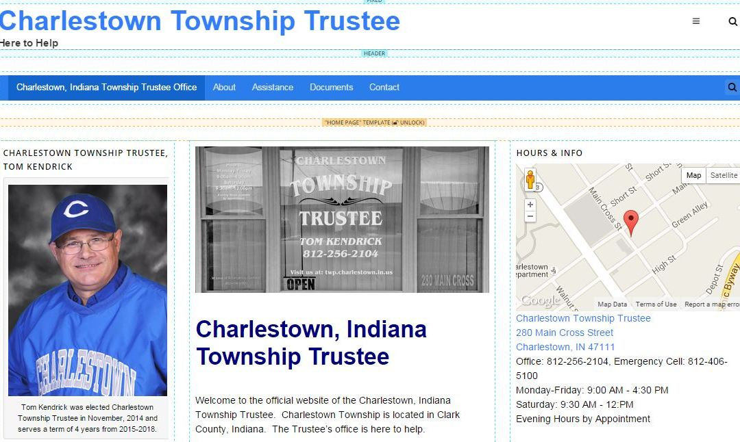 Trustee Launches Website