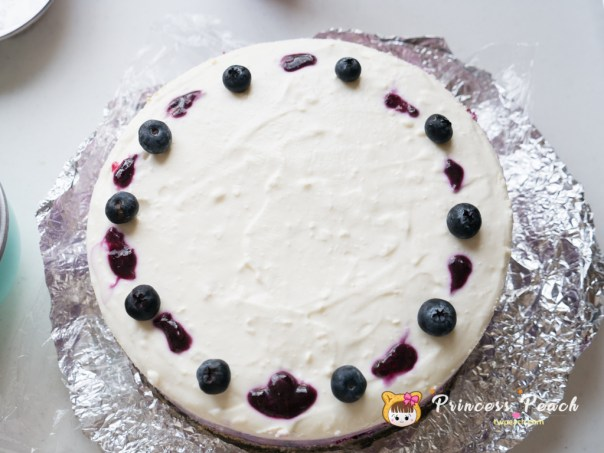 漸層藍莓乳酪蛋糕