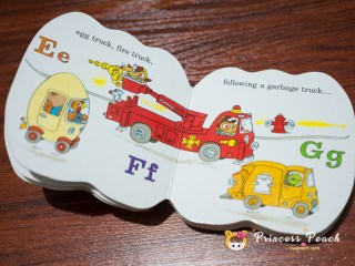 Richard Scarry's cars and trucks from A to Z.