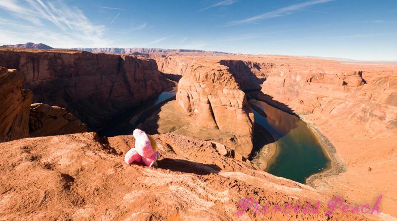 美國: U 型河道馬蹄灣 (Horseshoe Bend, AZ)