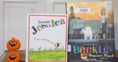 [英文繪本] 2Y 娃的書櫃 – 想像的好朋友之幻想世界繪本 (Jessica & Beekle)~!!