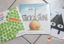 [英文繪本] 2Y 娃的書櫃 – 形狀們的友誼繪本 (Carrot & Pea, Stick and Stone, Triangle)~!!