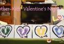 [美國育兒] 2Y 娃的甜蜜情人節, Happy Valentine's Day, loves! XOXO