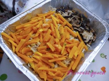 金瓜香菇麵