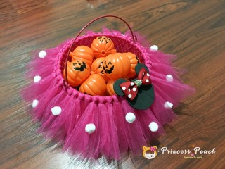 Halloween 糖果籃