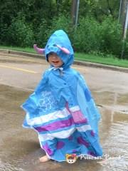 加大尺寸全家毛怪雨衣