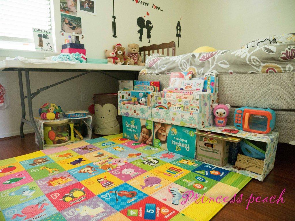 寶寶展示書櫃 DIY