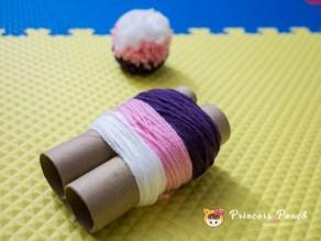 彩色 Pom Pom DIY