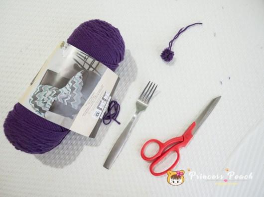 毛線 Pom Pom DIY 材料