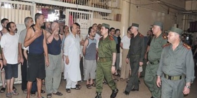 بشار الأسد يستنجد بسجناء المخدرات بحربه على الشعب السوري