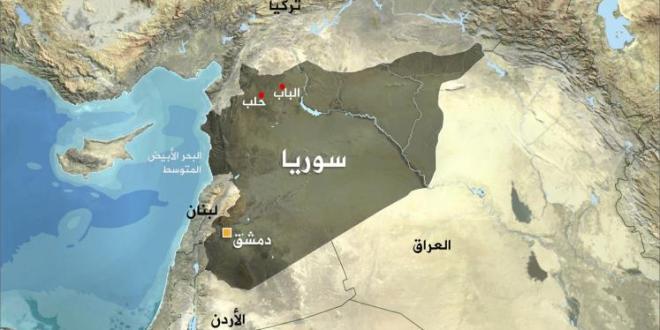 خارطة سورية