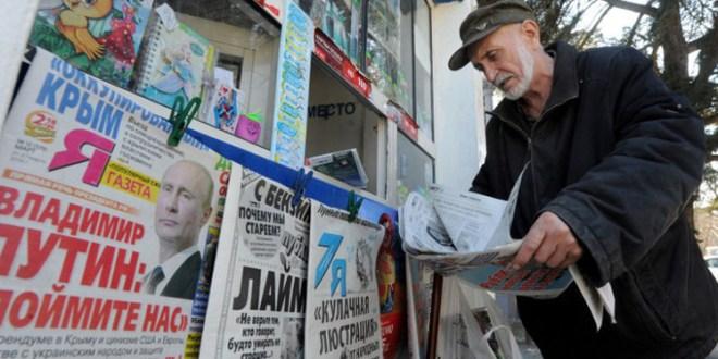 وسائل الاعلام الروسية والتصعيد ضد الغرب