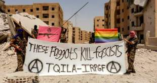 كتيبة للمثليين جنسيا ضمن قوات قسد