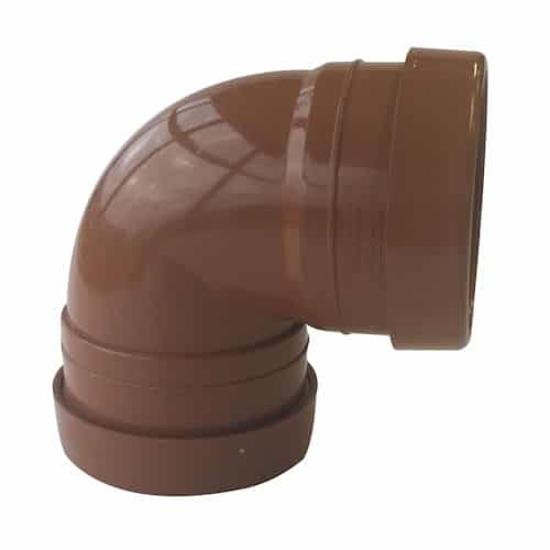 110mm Underground Drainage 90d Double Socket Tight Bend