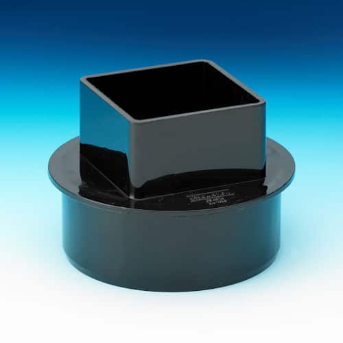 110mm - 65mm Square RWA Black Aqua110mm - 65mm Square RWA Black Aqua