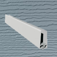 6mt Embossed Cladding 2 Part U-Channel Pearl Grey