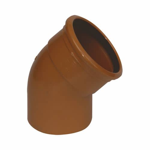 Underground Drainage 45d Single Socket Bend