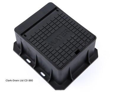 Clark-Drain CD880 Water Stop Tap Surface Box