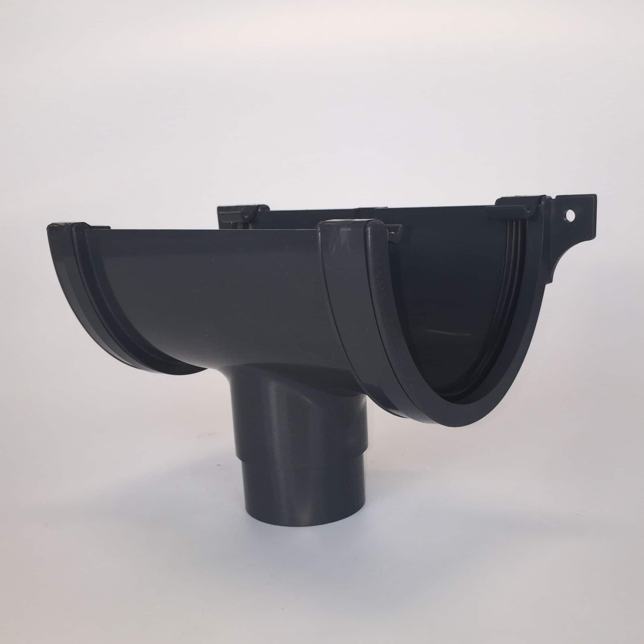 Deepstyle Running Gutter Outlet Anthracite