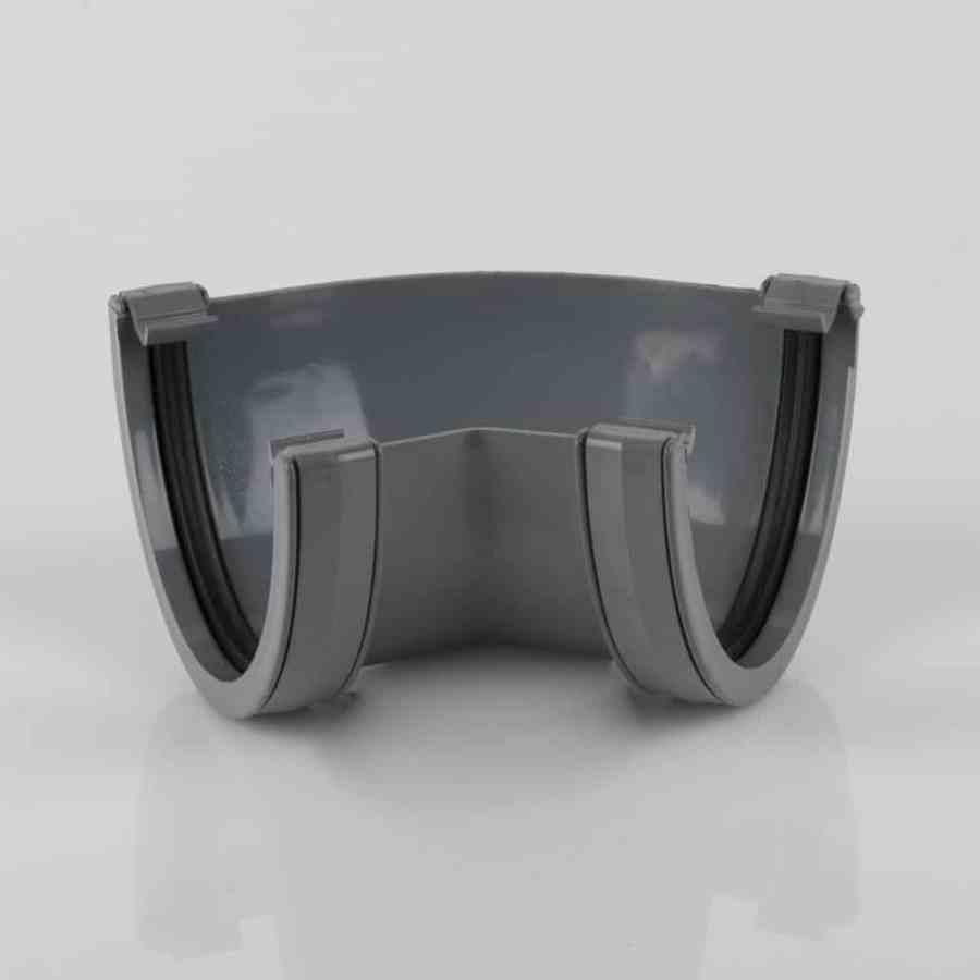 Deepstyle 135' Gutter Angle Light Grey
