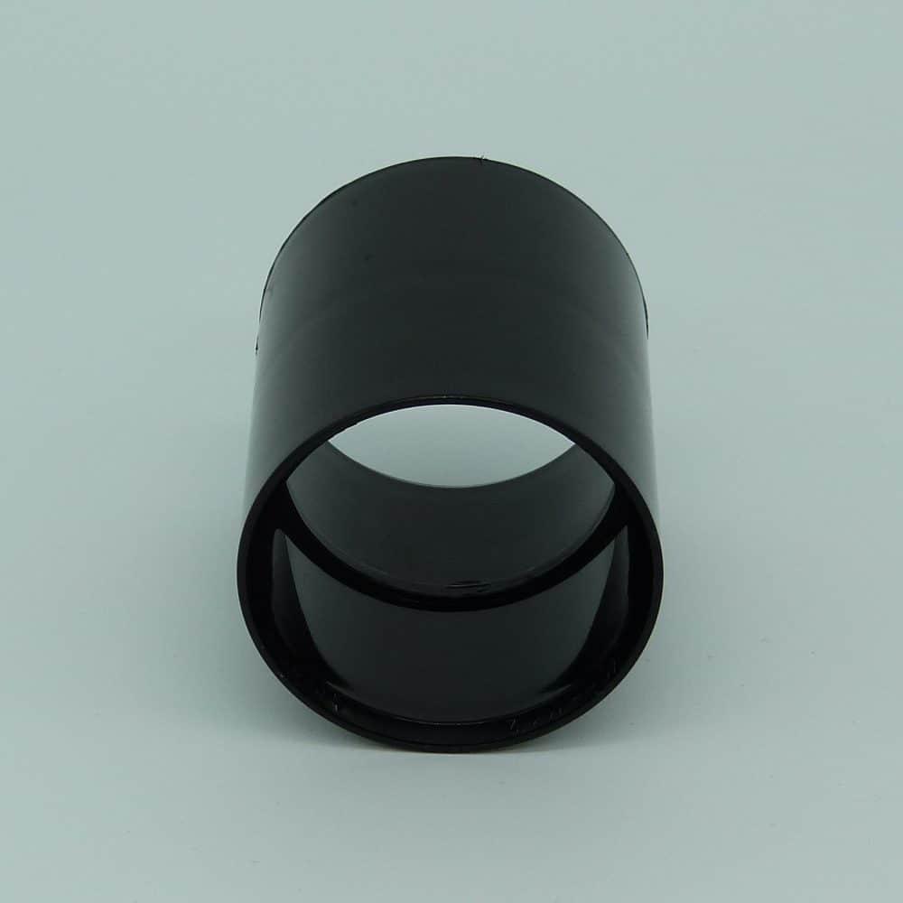 40mm solvent weld coupler black