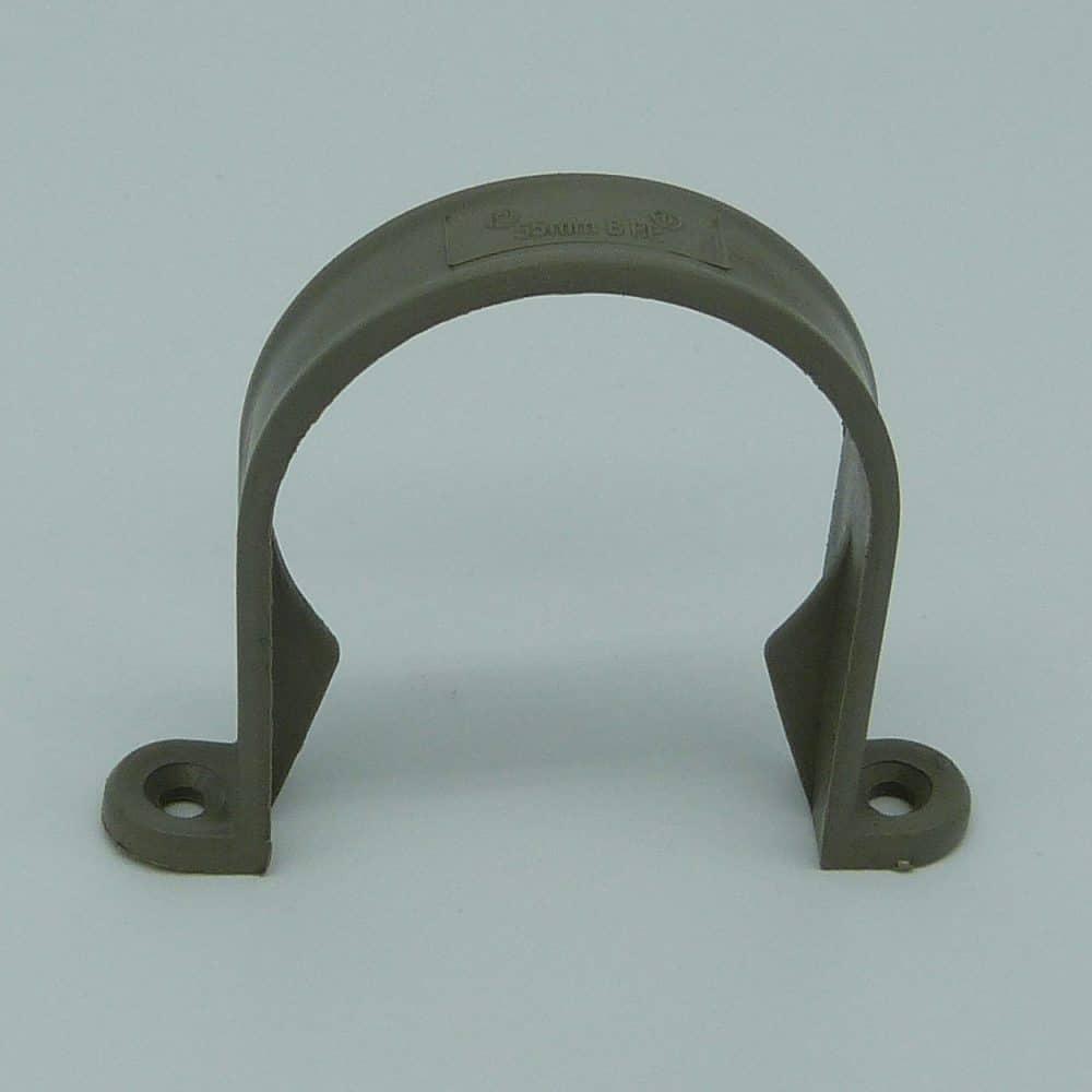 50mm Pipe Clip Grey