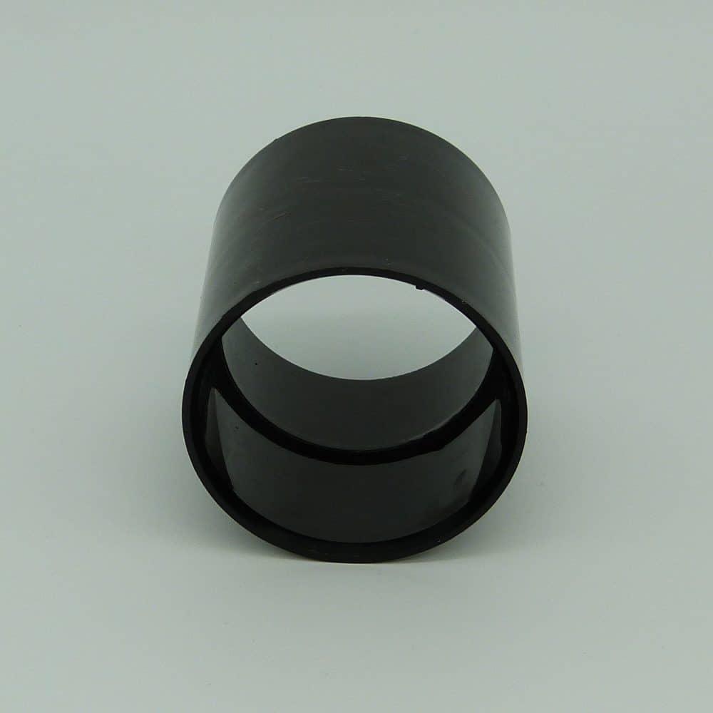 50mm Solvent Weld Coupler Black