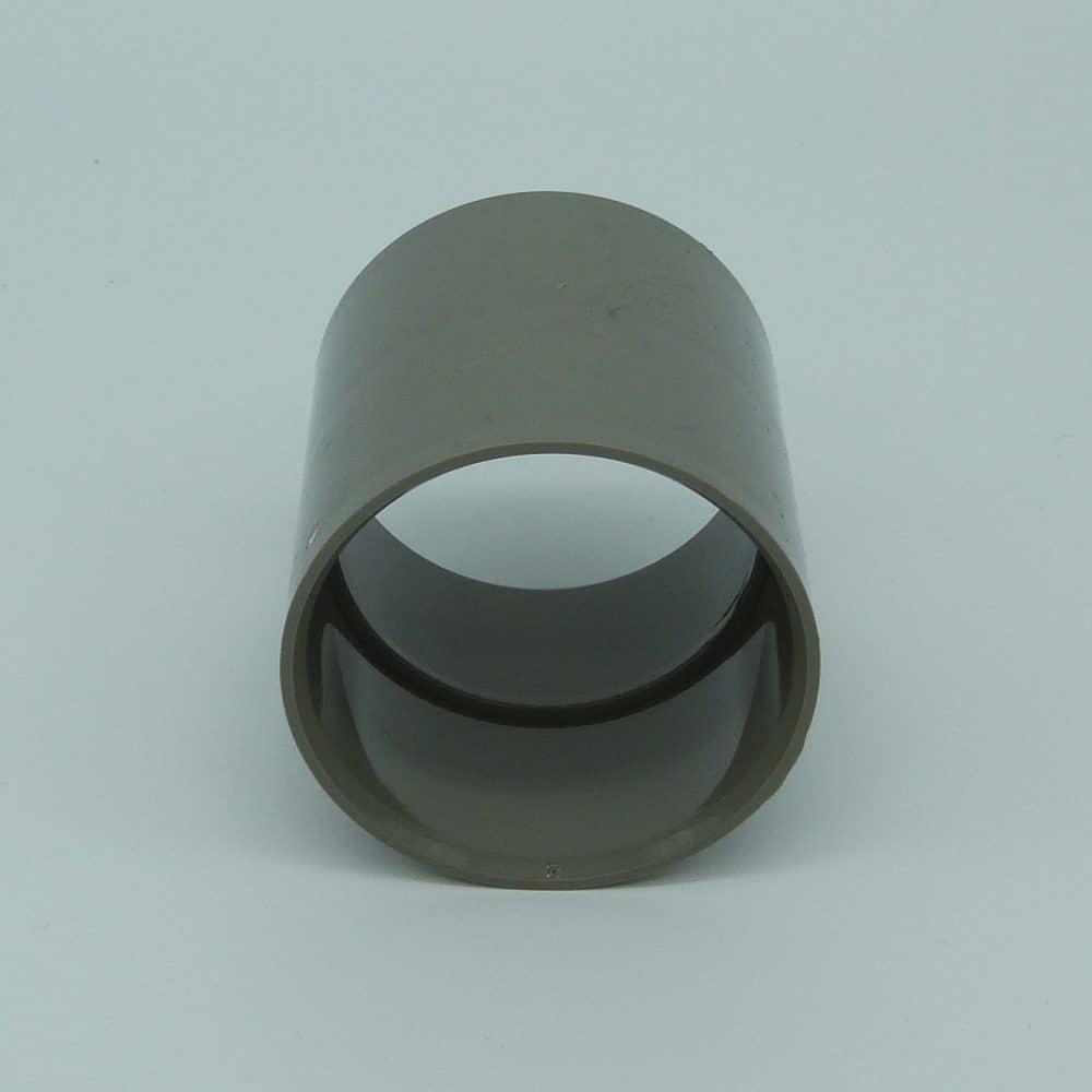50mm Solvent Weld Coupler Grey