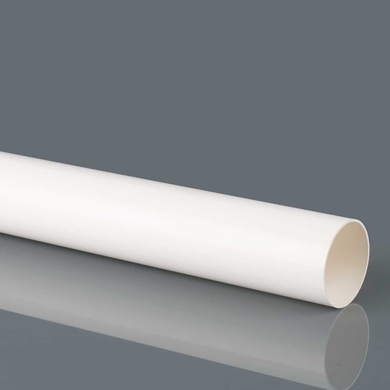 32mm Solvent Weld Waste Pipe 3M White