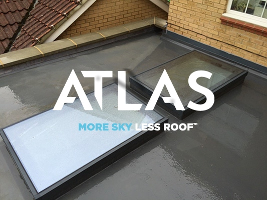 Atlas Glass Flat Roof Lantern