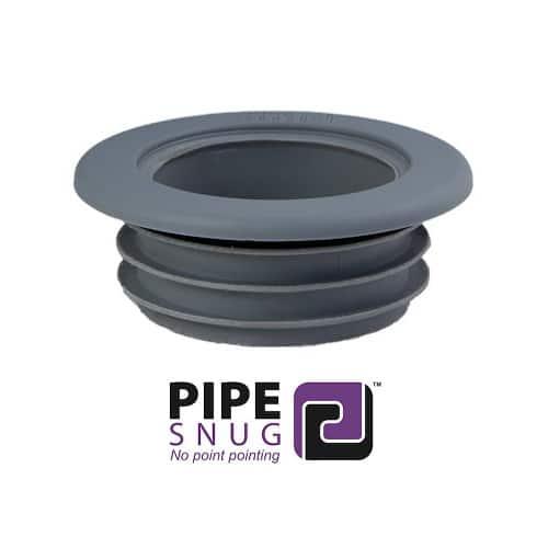 Pipesnug Grey Soil Pipe Collar-Seal 110mm