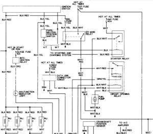 1996 Fuel Pump Wiring Diagram or Test Power to Pump | Taa World