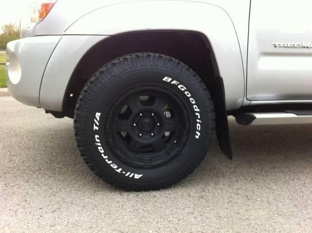Tacoma Tires 17 265 Mud 2008 70 Toyota