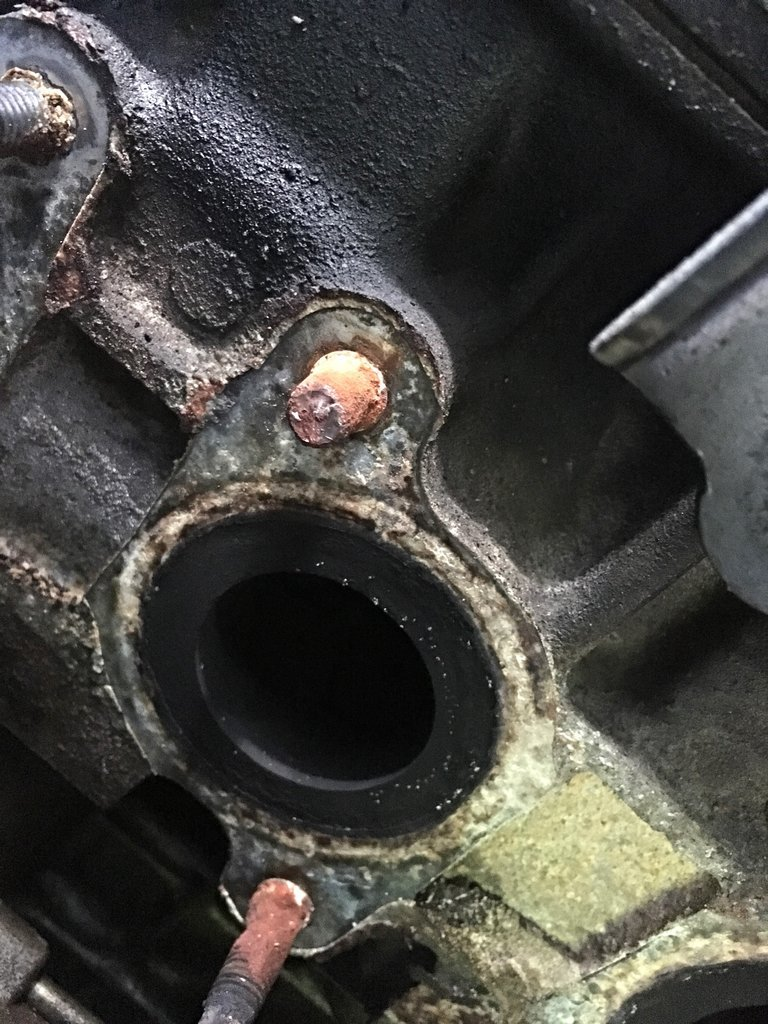 remove the exhaust manifold studs