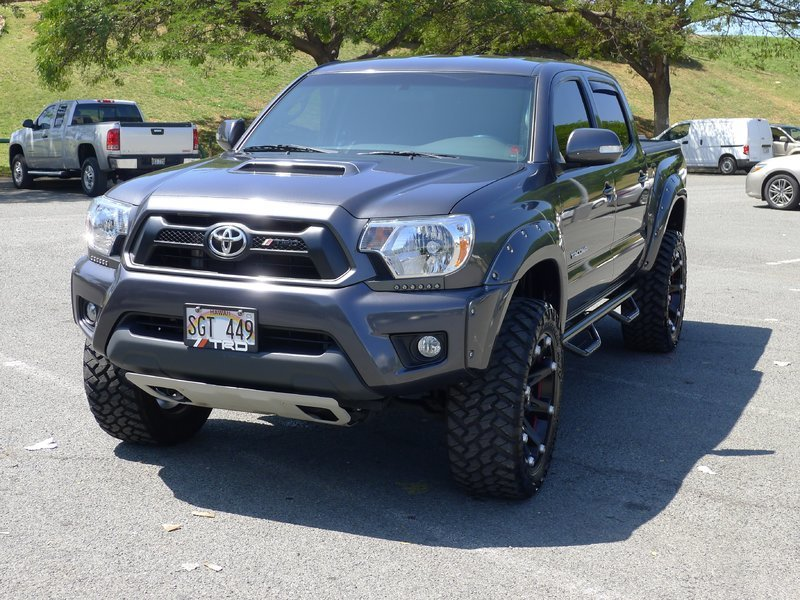 Tacoma 2014 Side Toyota Bars Step