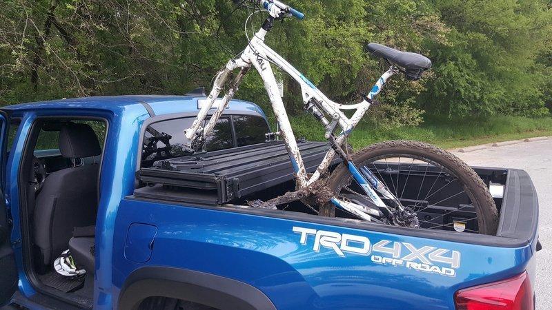 toyota tacoma bike mount cheaper than