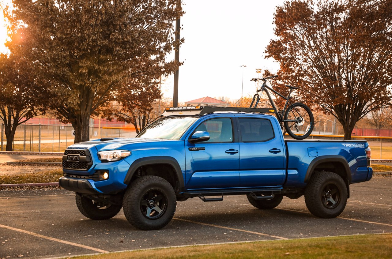 roof racks for 2020 tacoma double cab