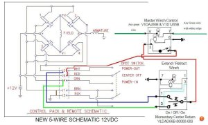 How to Wire XRC8 Winch to In Cabin Switch | Taa World