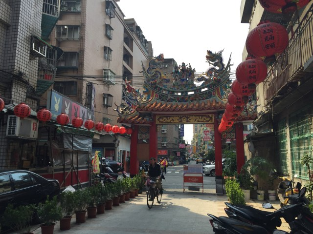 圖02台灣巷弄特色之一宗教與住宅的緊密連結