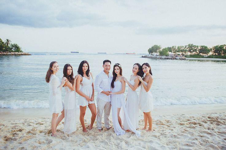 Beach Culture Watercross Wedding