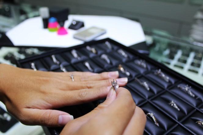 JannPaul Diamond Ring Setting