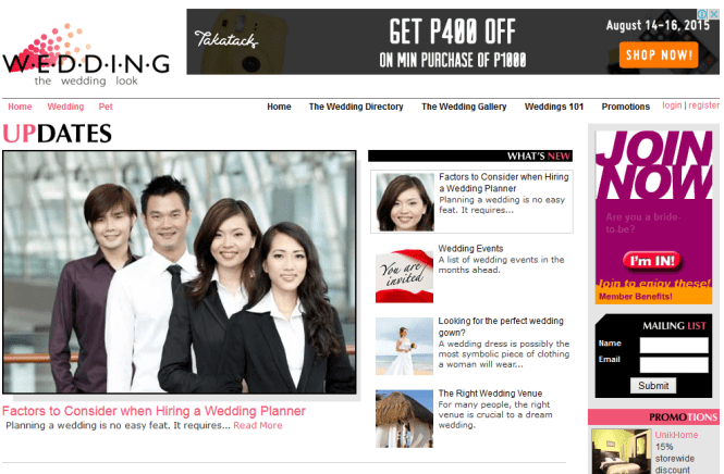 wedding websites 4