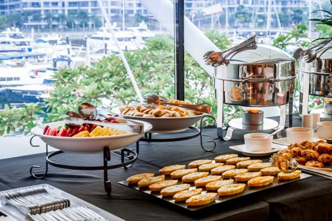 Top 10 popular wedding caterers in singapore the wedding vow for Canape catering singapore