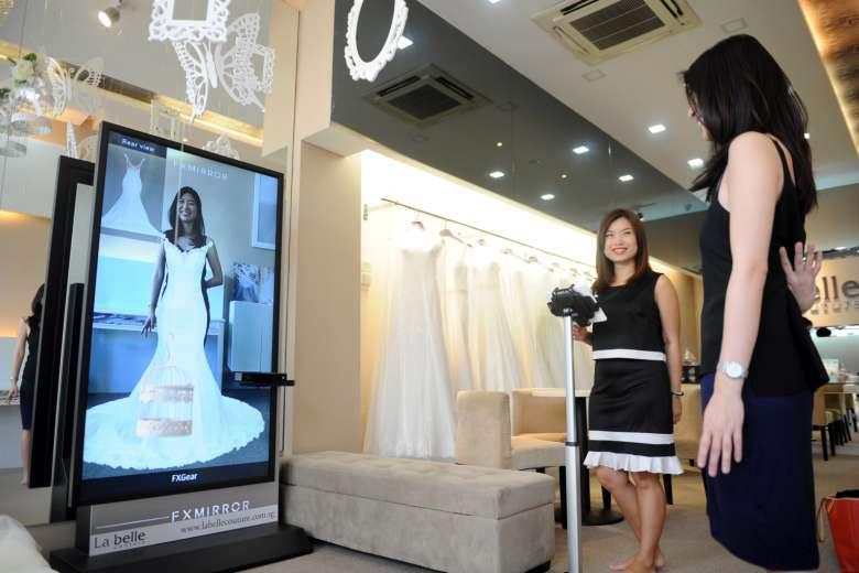 La Belle FX Mirror - Straits Times