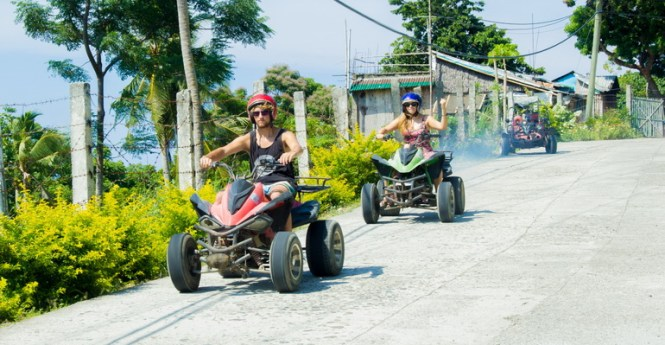 Boracay honeymoon atv boracay